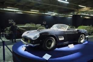 Ferrari found rusting in French barn sold for $23 million ...