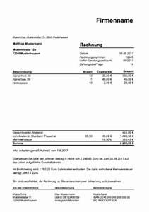 Inhalt Rechnung : rechnung f r handwerker handwerkerrechnung als excel vorlage hier herunterladen ~ Themetempest.com Abrechnung