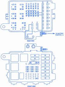 Chevrolet 4wd 1500 Pickup 1998 Fuse Box  Block Circuit Breaker Diagram