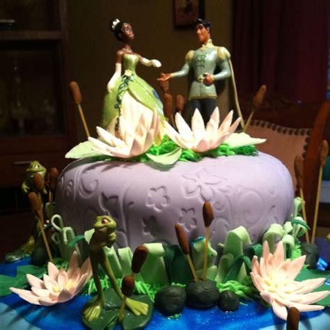 princess   frog cake  wife    daughter