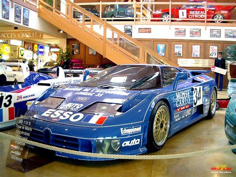 Bugatti eb 110 lm on track at the 1994 24 hours of le mans the brabus eb 110 is a modified version of the eb 110 super sports by german automotive tuning company brabus. Bugatti EB110 LM24 GT1 Synergic Racing #34 Alain Cudini 1994