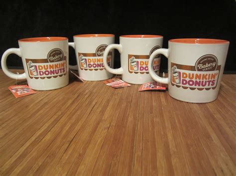 Love your morning cup of dunkin donuts coffee but aren't sure how to make it keto? 4 New Dunkin Donuts Bakery Series Collection Ceramic Coffee Mug Cup 12 oz NWT - Other