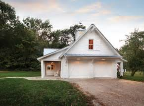 Farmhouse House Plans with Detached Garage