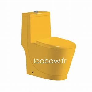 Wc couleur jaune loobow for Quelle couleur pour des toilettes