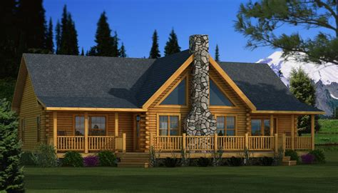 Log Cabin Home Plans by Adair Log Home Plan Southland Log Homes House Plans