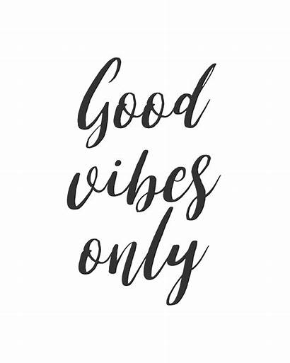 Quotes Inspirational Clip Vibes Positive Quote Clipart
