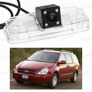 4 Led Car Rear View Camera Reverse Backup Ccd Fit For Kia