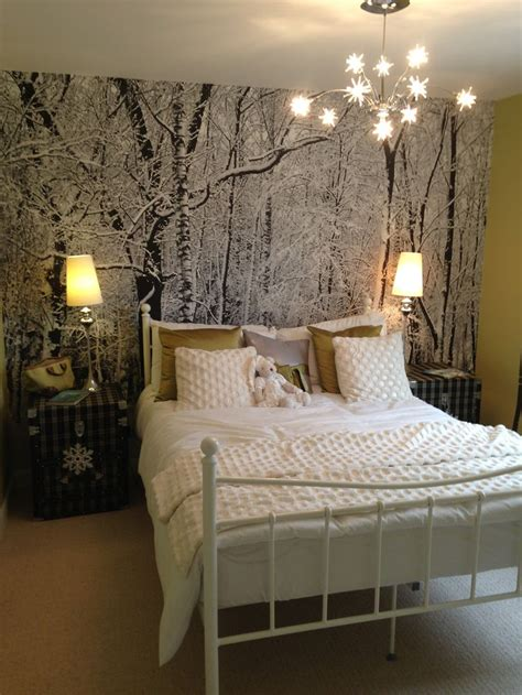 Themed Bedroom by Winter Forest Bedroom Bedrooms Forest Bedroom