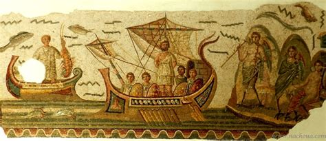 cuisine neptune mosaiques romaines tunisie