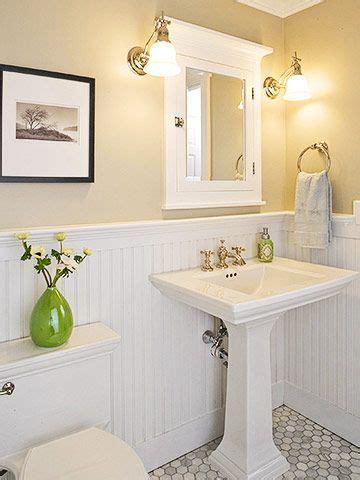 Bathroom Beadboard Ideas by Best 25 Wainscoting In Bathroom Ideas On