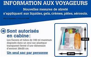 Produit Liquide Avion : magazine du tourisme actualit restrictions sur les liquides en avion ~ Melissatoandfro.com Idées de Décoration