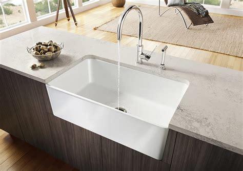 blanco silgranit farmhouse sink fireclay sinks everything you need to know qualitybath