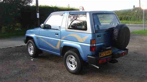 Daihatsu 1994 Sportrak Exi 4x4 Just Two Owners Very Low