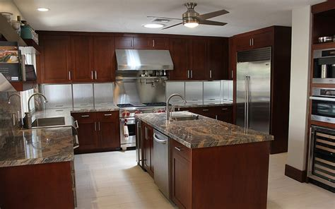 great kitchen  specialty stainless steel appliance garage  extra deep cabinetry masd