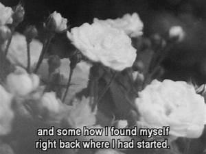 death quote Black and White life sad quotes movie roses ...