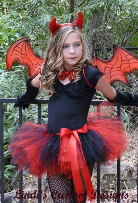 devil costumes for little girls with tutus The Best