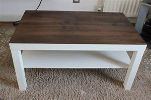 Easy Diy Build A Living Room Coffee Table With Two Tone