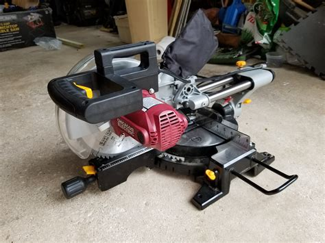 Harbor Freight 10 Inch Sliding Compound Miter Saw (#61972