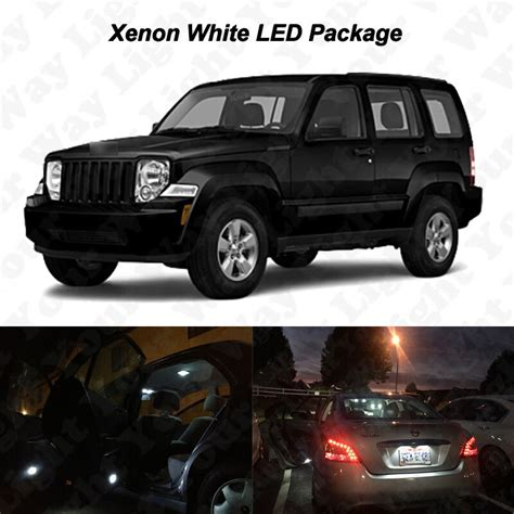xenon white smd led lights interior package