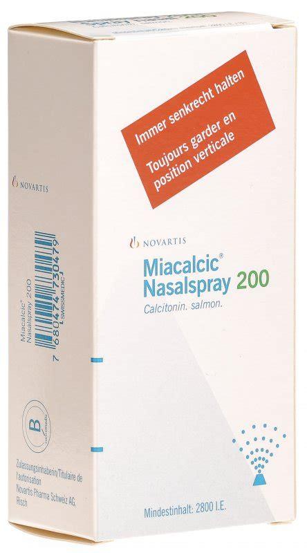 miacalcic nasalspray  edosis  der adler apotheke