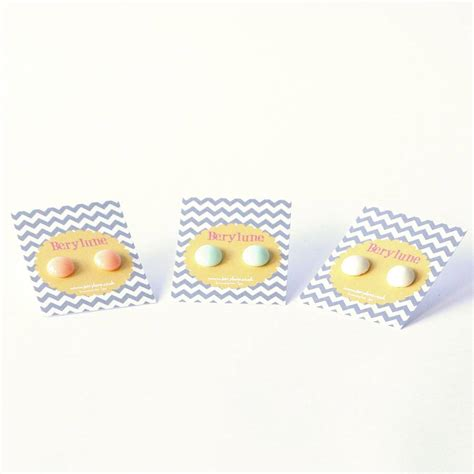 Pebble Earrings By Berylune Notonthehighstreetcom