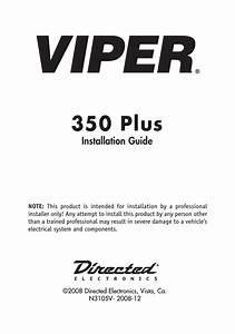 Viper 3105v Installation Guide