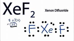 Xef2 Lewis Structure - How To Draw The Lewis Structure For Xef2