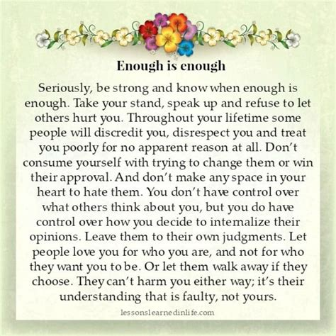 Strong Takes A Stand seriously be strong and when enough is enough take