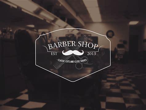 Barber Shop Logo On Behance