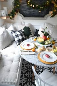 Christmas, Entertaining, Ideas, And, Casual, Table, Setting