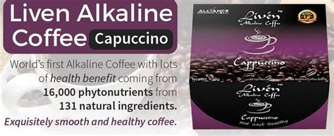 Coffea arabica is a species of coffee indigenous to ethiopia. Liven Alkaline Coffee - Cappuccino - Alliance In Motion Global