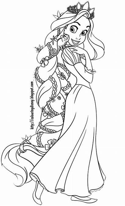 Rapunzel Tangled Colorir Desenhos