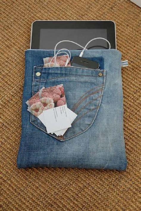 repurpose  jeans  mind blowing diy ideas