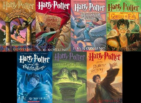 author of harry poter harry potter the scifanac s
