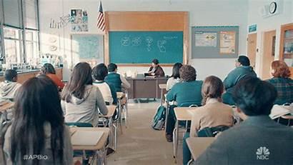 Teacher Classroom Sexe Giphy Student Nbc Interactive