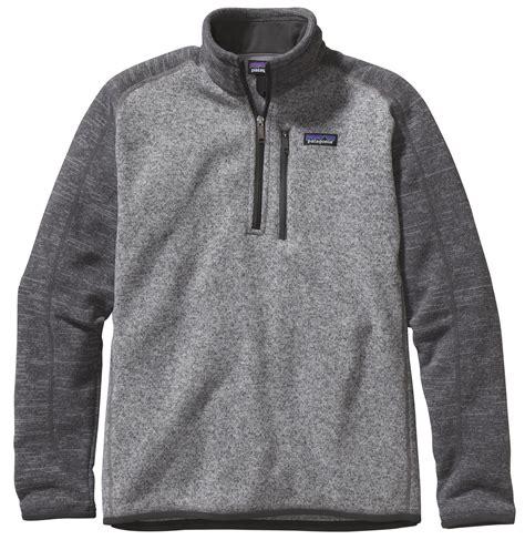Patagonia Men's Better Sweater 14 Zip Fleece Jacket