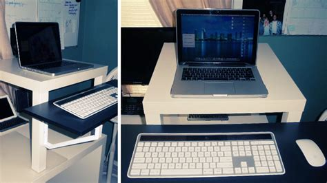Lifehacker Best Standing Desk by A Simple Portable Inexpensive Standing Desk Solution