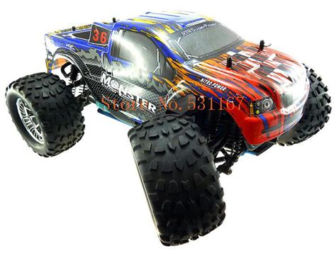 wholesale hsp rc truck 1 10 4wd nitro gas power road truck remote car high