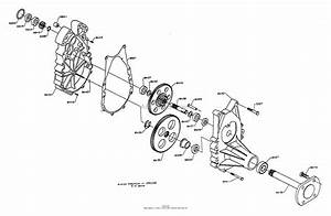 Dixon Ztr 5421  1995  Parts Diagram For Gearbox Assembly  5000 Series