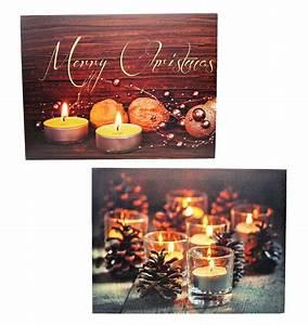 Led Wandbilder Shop : 2 wandbilder teelichter led beleuchtet 40 x 30 cm batteriebetrieben weihnachten ebay ~ Markanthonyermac.com Haus und Dekorationen