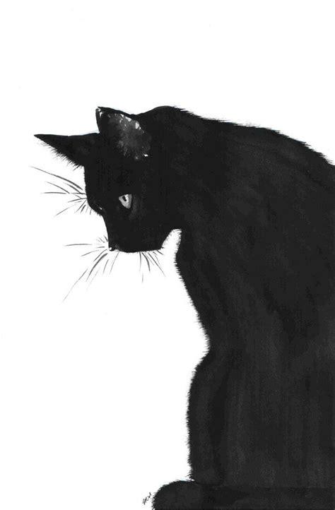 october    black cat art art