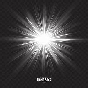 Abstract Gleaming Light Rays Vector Background Stock ...