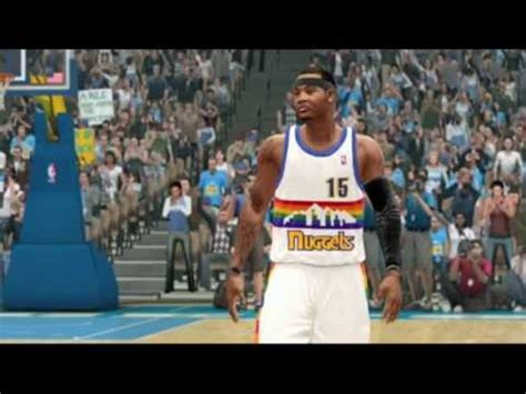 NBA LIVE 10 - Carmelo Anthony Screenshots - YouTube