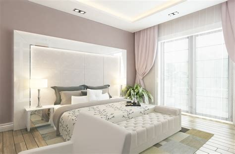 Modern White Bedroom by 93 Modern Master Bedroom Design Ideas Pictures