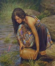 Beautiful Women Art Painting
