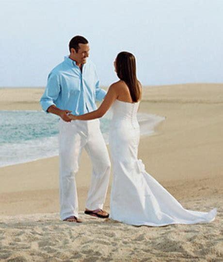 beach wedding clothes