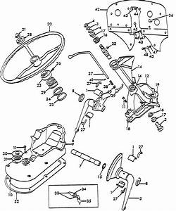 Ford 9n 2n Tractor Throttle Control Arm Asm Assembly