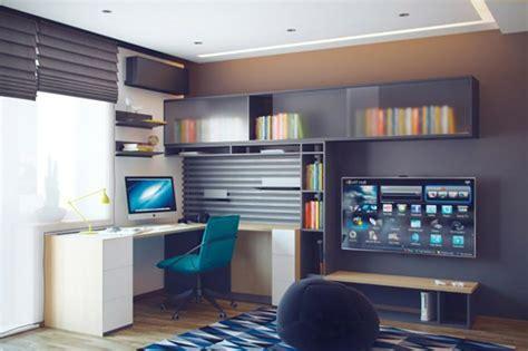 bureau sympa chambre ado au design déco sympa et original design feria