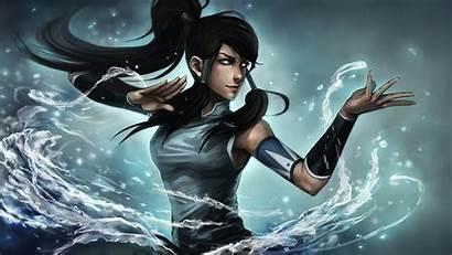 Korra Avatar Legend Water Mobile Desktop Wallpapers