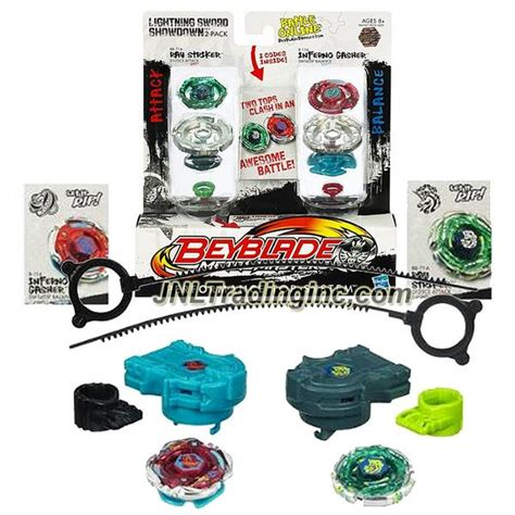 beyblade metal masters battle tops lightning sword